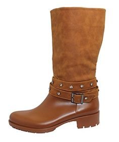 Stylish Womens Rain Boots Water Shoes High Leg With Cute Pattern Tyc052 ** This is an Amazon Affiliate link. To view further for this item, visit the image link.
