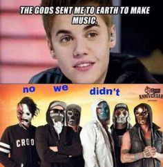 "xD No We Didn't Justin ""Bitch"""