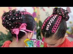 Hair Dos, Hair And Nails, Hair Accessories, Hair Styles, Beauty, Youtube, Fashion, Amor, Child Hairstyles
