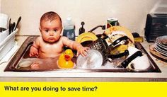 What are you doing to save time?