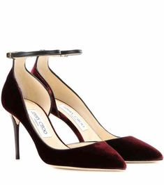 Pumps Lucy 85 in velluto | Jimmy Choo