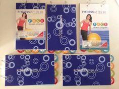 Lot (5 Books) Fitness After 40 F.A.C.E Fitness Program By Vonda Wright NEW