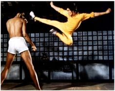 Bruce Lee and Kereem Abdul Jabar in Game of Death