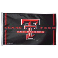NCAA Texas Tech Red Raiders Flag