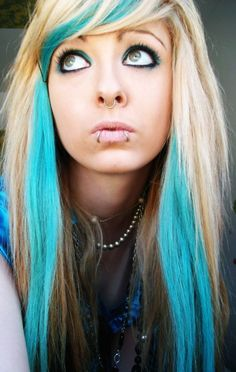 Blonde hair blue highlights the best blonde hair 2017 color scene hairstyles blonde and blue highlights hairstyle pmusecretfo Gallery
