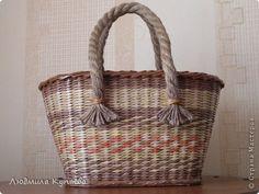 Поделка изделие Плетение Ваш уютный дом Бумага фото 14