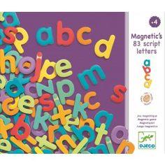 DJECO 83 magnetische letters 4 jr+