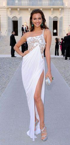 Gorgeous white gown