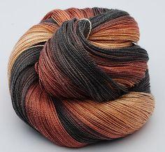 Gradient Silk/Sea Cell Yarn, 100 gr ,GSCS 7 by yarnandfibre on Etsy