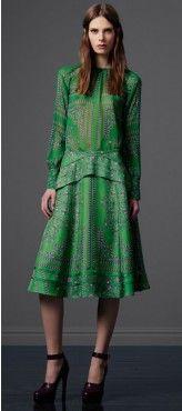 #emerald Halter #Dress #in @Derek_Lam #FW_2013