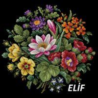 """(4) Gallery.ru / elif84 - Альбом """"Victorian floral bouquet"""""""