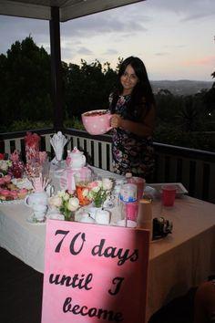 Bridesmaids / kitchen tea / bridal shower / decor / decorations / teapot cake / games