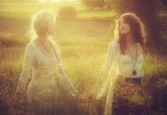 The Free People September 2011 Lookbook is Ethereal and Bohemian #hair trendhunter.com