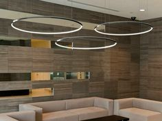 Lampada a sospensione a LED in alluminio GIRATA HORIZONTAL - Sattler