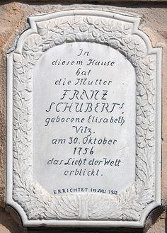 W Zlatych Horach urodziła się matka Franciszka Schuberta...