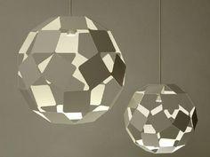 Pendelleuchte aus Stahl DANCING SQUARE LAMP by Specimen Editions Design Nendo