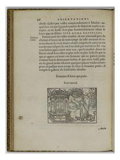 Les illustres observations antiques par GABRIEL SIMEON FLORENTIN - Musée national de la Renaissance (Ecouen)