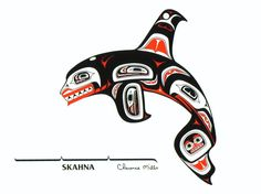 Orca Rattle - Barry Herem and Jimmy Wright prints - RAND AFRICAN ART