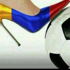 Colombia soccer and shoes Colombia Soccer, Soccer Fifa, Brazil World Cup, Shoe Game, Christian Louboutin, Two By Two, High Heels, Pumps, Shoes