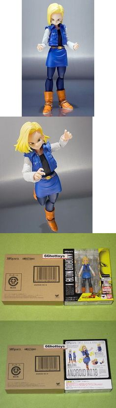 DragonBall Z 7117: S.H. Figuarts Android No.18 Dragonball Z Bandai Action Figure New -> BUY IT NOW ONLY: $129.99 on eBay!
