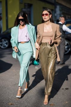 Gilda Ambrosio will be seen during Milan Fashion Week Spring / Summer 2019 Stil Inspiration Spring Fashion Trends, Milan Fashion Weeks, Fashion 2017, Look Fashion, Latest Fashion Trends, Autumn Fashion, Fashion Outfits, Womens Fashion, Fashion Guide