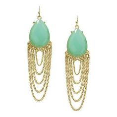 Pree Brulee - Romantic Chalcedony Earrings