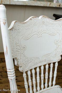 Start At Home Decor specializes in furniture refinishing and wood/MDF cutouts. We offer a variety of DIY projects, home decorating tips, tutorials and ideas. Refinished Chairs, Kitchen Design Decor, Decor, Furniture, Table Makeover, Chalk Paint Chairs, Furniture Rehab, Farmhouse Chairs, Painted Kitchen Tables