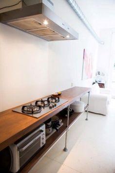Steigerbuis in de Keuken - Voorbeelden