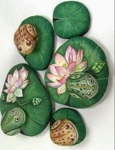 Pintar en piedras