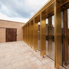 brass columns