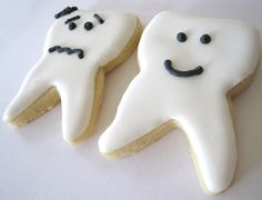 teeth cookies | Flickr - Photo Sharing!