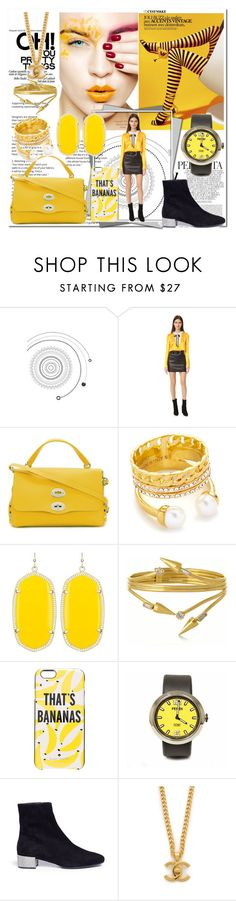"""""""Rock the Look Once More!!"""" by stylediva20 ❤ liked on Polyvore featuring Whiteley, Zanellato, Vita Fede, Kendra Scott, VICKISARGE, Kate Spade, Fendi and René Caovilla"""
