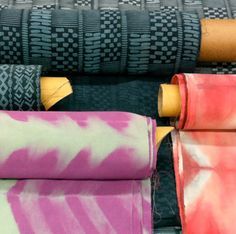 shibori textile, tie dye textile