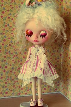 OOAK Custom Blythe Doll Candy par CustomdollsbyLego sur Etsy