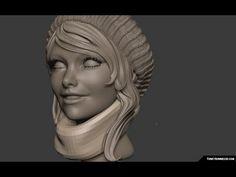 ▶ Daydreamer sculpt timelapse - YouTube