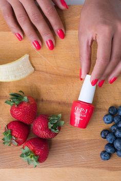Say hello to healthy. New OPI GelColor leaves your nails looking healthier after removal - no more peeling off! Shade: Cajun Shrimp