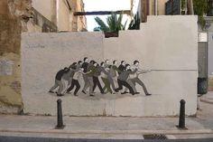 """Escif """"Guillotina"""" New Mural In Valencia, Spain StreetArtNews"""