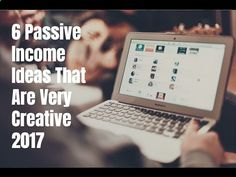 6 Passive Income Ideas That Are Very Creative 2017   passive income guide - WATCH VIDEO here -> makeextramoneyonl... - passive income guide 6 passive income ideas that are very creative 2017. Go to for video notes, related content, and helpful resources mentioned. Let's Connect! Twitter – Facebook – Google  – In this video, you will learn about 6 creative, passi