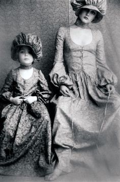 Biba mom and daughter granny dresses would make  great big/little sister wear for Barbie and Skipper