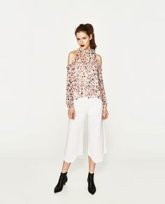 ZARA+-+WOMAN+-+SHIRT+WITH+OPEN+SHOULDERS