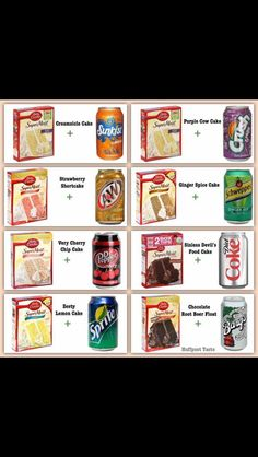 No eggs, no oil, no water...just use 1 can of soda in its place, that's it!!!!