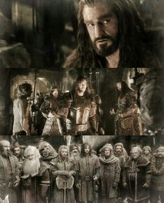 """Thorin """"....we are the Dwarves of Erebor, and we have come to reclaim our homeland...."""""""