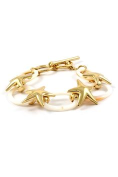 Starfish bracelet. Love it. Right up my alley
