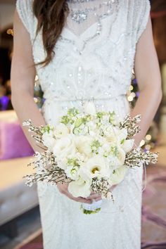 New Year�s Radiant Orchid Wedding Inspiration