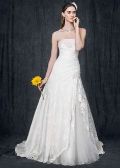 DAVIDS BRIDAL 7YP3344 Talla 2 - De noviaa novia