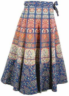 Maybe I'm a hippie, but I really like wrap-skirts!