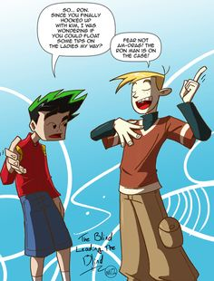 Jake and Ron Disney Crossovers, Cartoon Crossovers, Disney Xd, Disney And Dreamworks, Jake Long, American Dragon, Avengers Alliance, Randy Cunningham, Different Art Styles