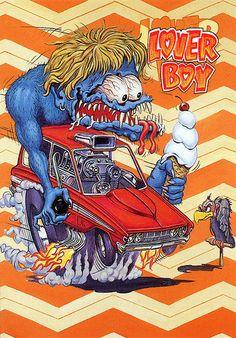 Rat Fink Ed Big Daddy Roth - Lover Boy