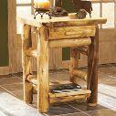 Cabela's Aspen Log Nightstand