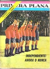 1965 Primera Plana Magazine - Club Atletico Independiente de Avellaneda